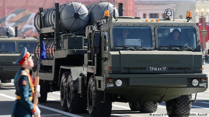Ukraine Russland Konflikt S-400 Luftabwehrsystem (picture-alliance/dpa/Sputnik/I. Russak)