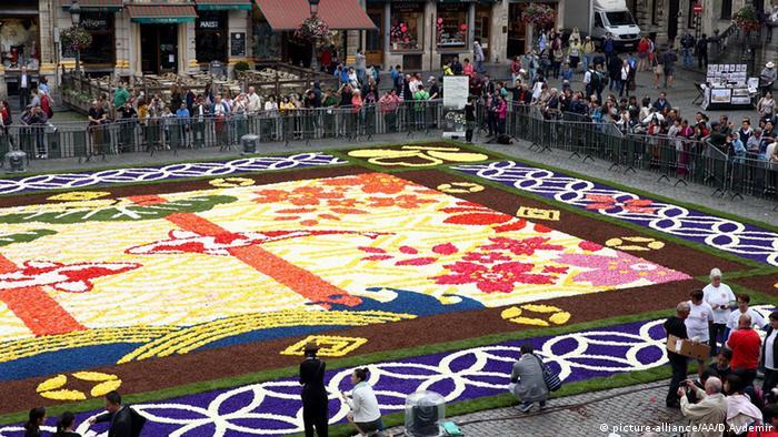 Belgien Blumen Brüssel