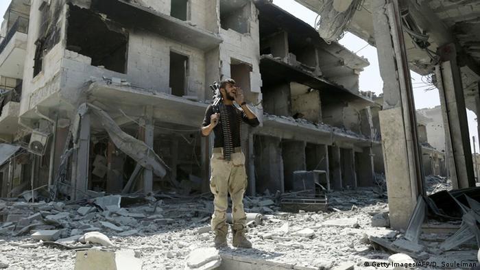 Syrien IS Rückzug aus Manbidsch