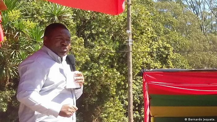 Mosambik Filipe Nyusi in Manica (Bernardo Jequete.)