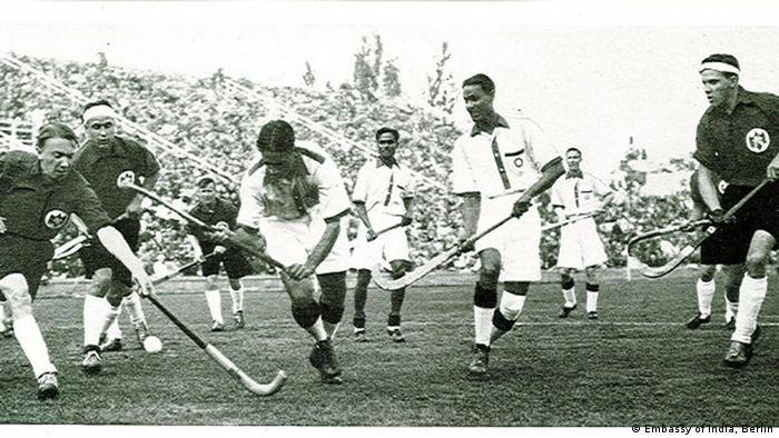 Berlin Ausstellung Hockey Wizard Major Dhyan Chand