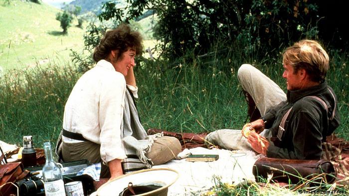 Filmstill Robert Redford und Meryl Streep in Out of Africa / Jenseits von Afrika. ( Jenseits von Afrika ) (Imago/ZumaPress)