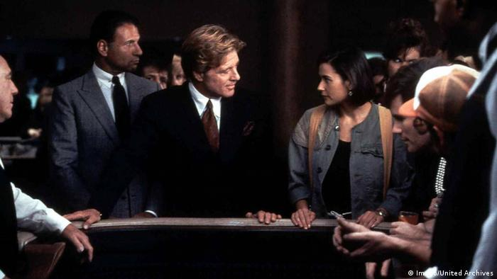 Filmstill Robert Redford in 'Indecent Proposal' (Ein unmoralisches Angebot) (Foto: Imago/United Archives)