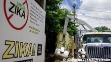 USA Puerto Rico San Jose Kampagne gegen Zika-Virus