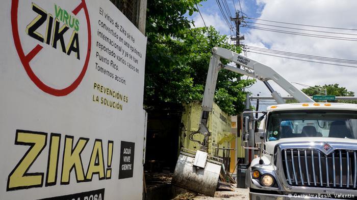 USA Puerto Rico San Jose Kampagne gegen Zika-Virus (Getty Images/A. Valentin)