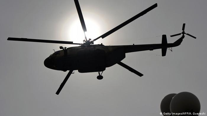 Der Hubschrauber MI-17 (Getty Images/AFP/A. Quereshi)