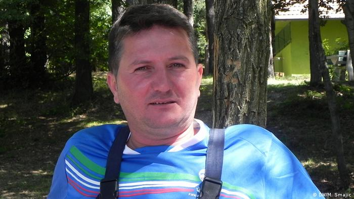 Landminen in Bosnien und Herzegowina Slavisa Pejanovic
