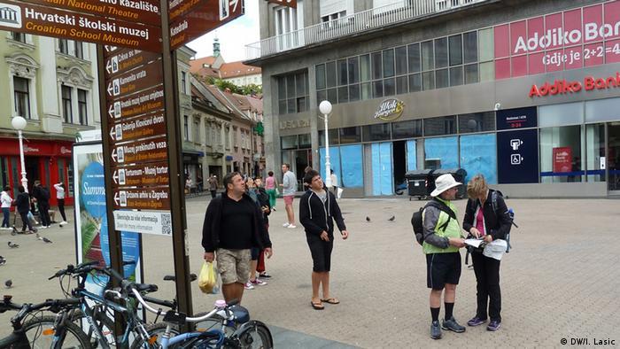 Zagreb - Touristen