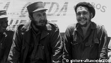 Fidel Castro y Ernesto Che Guevara (Foto de 1960).