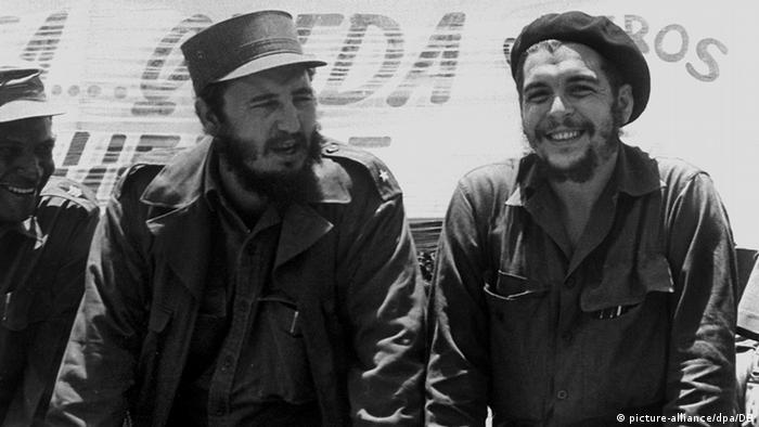 Fidel Castro ve Che Guevara