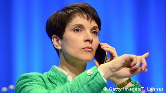 Porträt AFD Frauke Petry (Getty Images/T. Lohnes)