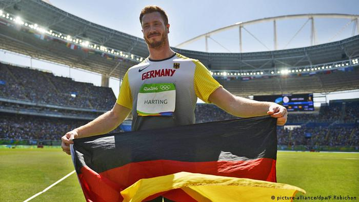 Christoph Harting Rio 2016 Olympia