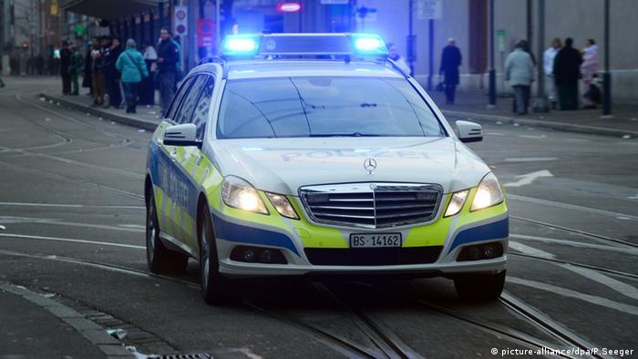 Полицейский автомобиль в Швейцарии