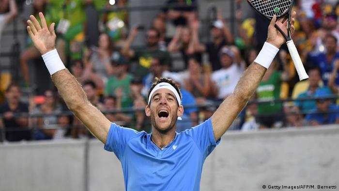 Del Potro jugará la Copa Davis