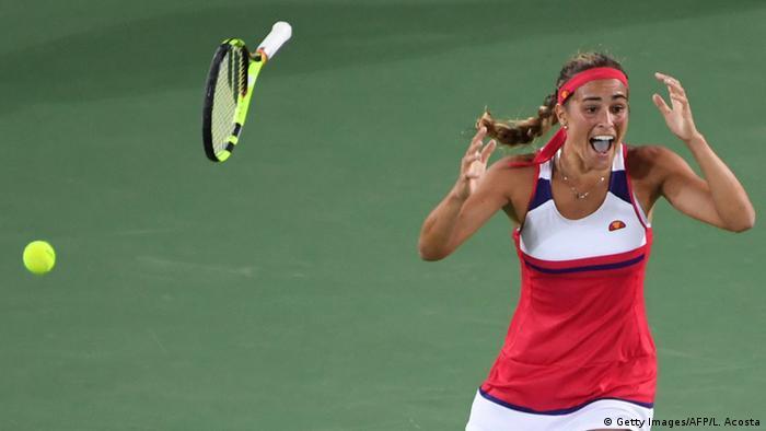 Rio Olympischen Spiele 2016 13 08 - Monica Puig Tennis Finale