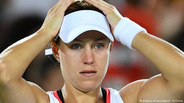 Rio Olympischen Spiele 2016 13 08 - Angelique Kerber Tennis Finale