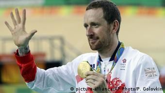 Rio Olympischen Spiele 2016 13 08 - Bradley Wiggins (picture-alliance/AP Photo/P. Golovkin)