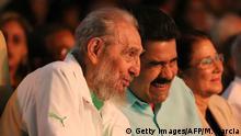 Kuba 90. Geburtstag von Fidel Castro im Karl Marx Theater