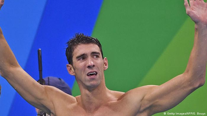 Rio Olympischen Spiele 2016 13 08 - Michael Phelps