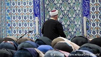 DITIB mosque with imam