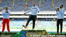 Rio Momente 13 08 Olympische Spiele 2016 - Christoph Harting Gold Diskuswerfen