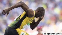 Rio Olympia 100-Meter Vorlauf Männer Usain Bolt