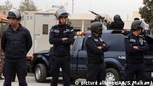 Jordanien Sicherheitskräfte in Amman