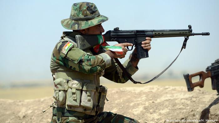 Солдат пешмерга поблизу Мосула