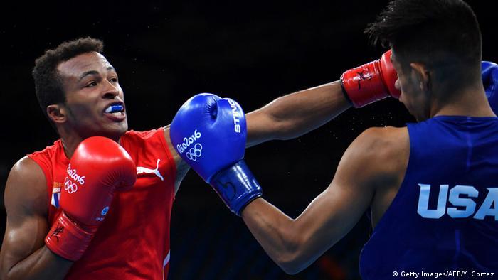 Olympiade Rio Boxen USA Kuba