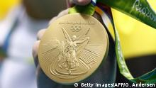 Olympiade Rio Gold Medaille