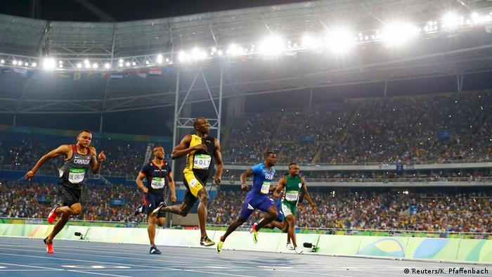 Rio Momente 14 08 Leichtathletik 100 m Männer Finale