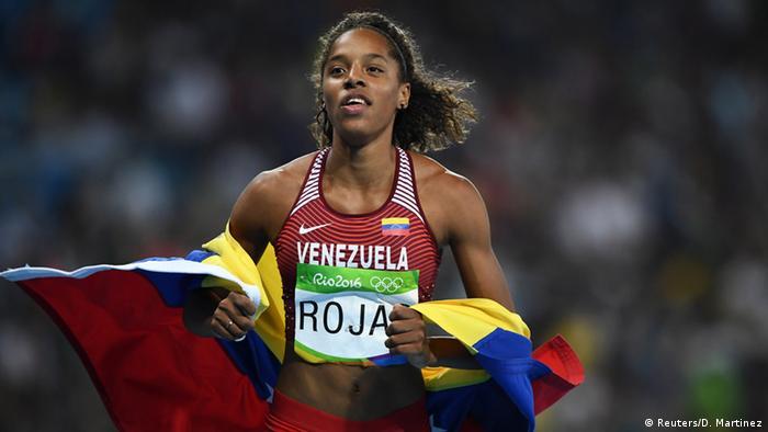 Rio Momente 14 08 Leichtathletik - Dreisprung Frauen Finale Yulimar Rojas