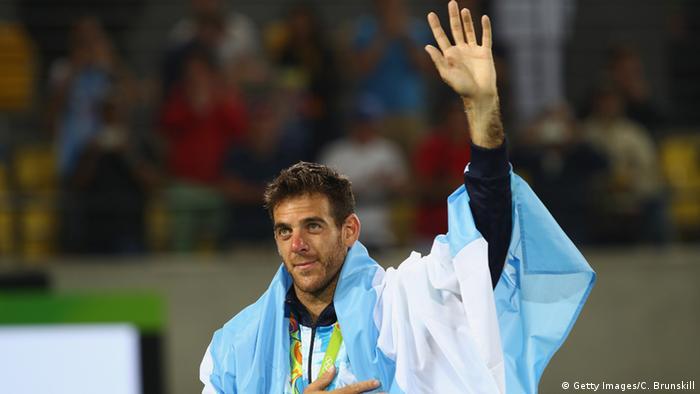 Rio Momente 14 08 Tennis Juan Martin Del Potro