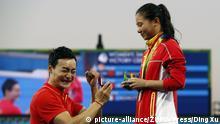 Rio Olympia Heiratsantrag Qin Kai an He Zi (R)