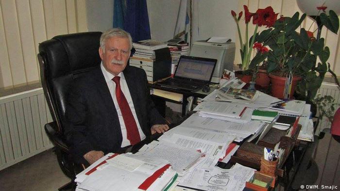 Nusret Helić, gradonačelnik Gračanice, jedne od privredno najrazvijenijih općina u BiH