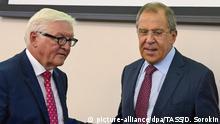 Russland Frank-Walter Steinmeier und Sergei Lawrow in Jekaterinburg
