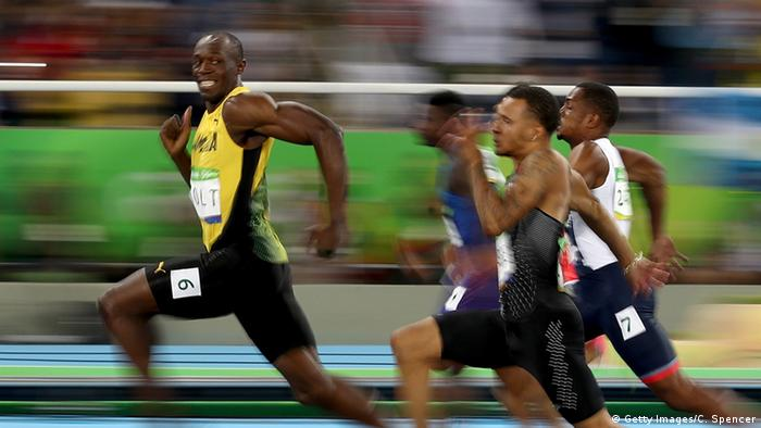 Brasilien Olympische Spiele in Rio Sprinter Usain Bolt (Getty Images/C. Spencer)