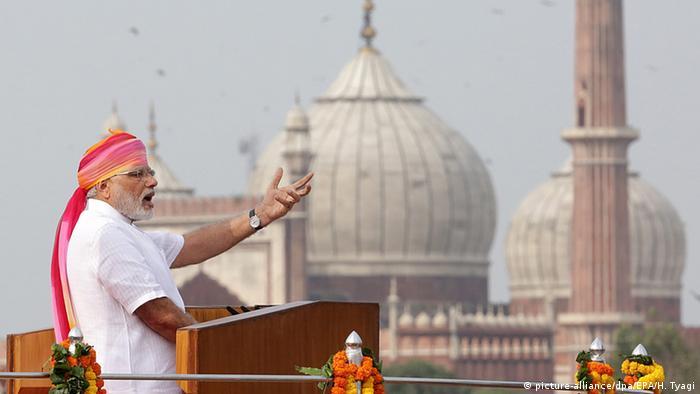 Indien Unabhängigkeitstag in Neu-Delhi