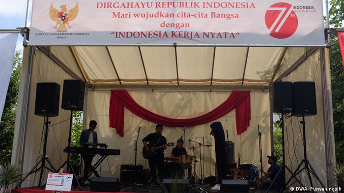 Berlin Feiern zum Unabhängigkeitstag Indonesien
