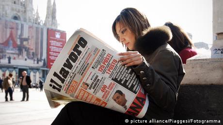 """Οι άνεργοι λένε """"Bella Ciao"""" στην Ιταλία"""