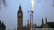 England London Anti-Fracking Protest Greenpeace