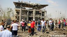 Türkei Region Diyarbakir Bombenanschlag