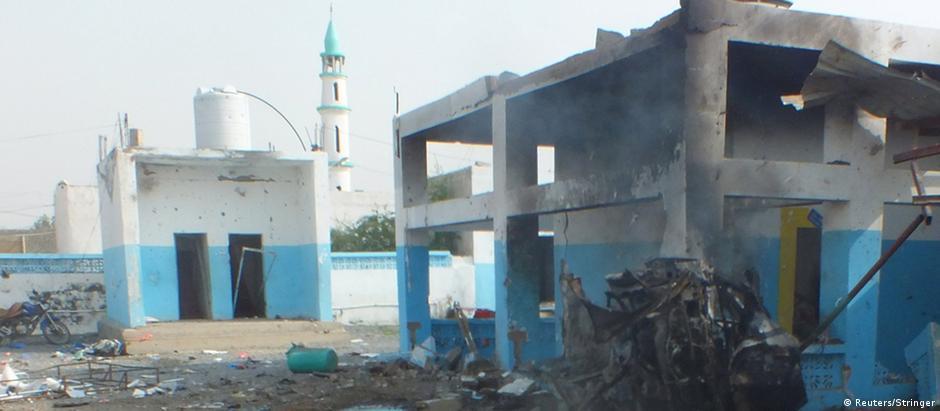 Ataque destruiu hospital na cidade de Abs
