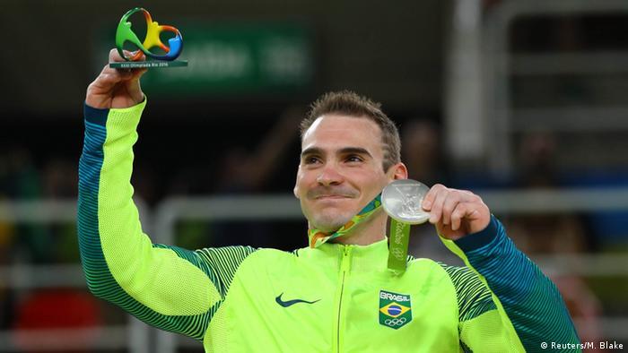 Brasilien Rio de Janeiro Gymnastik der Herren Arthur Zanetti