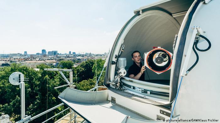 Reception base in Austria for quantum communications