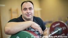Deutschland Gewichtheber Almir Velagic