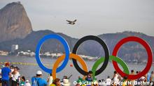 Symbolbild Olympia Rio 2016 Ringe Geldmangel