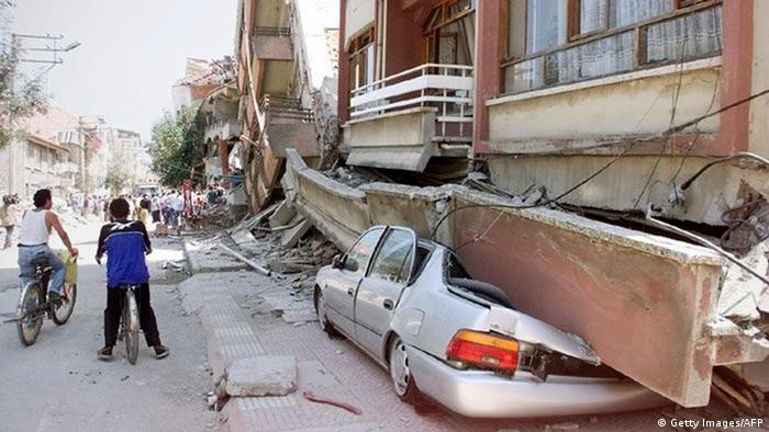 След земетресението от 17 август 1999 в Турция