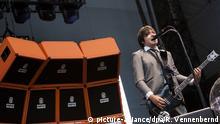Musikband Die Ärzte Bassist und Sänger Rodrigo Gonzalez