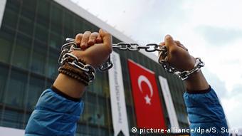 Symbolbild Pressefreiheit Türkei (picture-alliance/dpa/S. Suna)